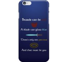 One Precious iPhone Case/Skin