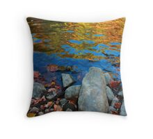 Autumn Water 2 Throw Pillow