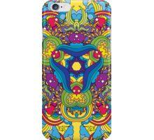 Psychedelic jungle kaleidoscope ornament 35 iPhone Case/Skin