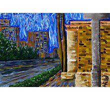 """Daytona Beach"" original signed acrylic painting on canvas Photographic Print"