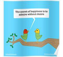Birds of Wisdom Poster