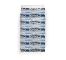 Vesuvius and Naples Harbor - Mediterranean Impressions Duvet Cover