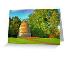 Linlithgow Royal Doocot Greeting Card