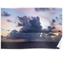 Ocean Weather Poster