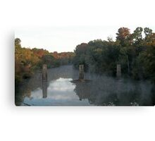 Flint River in the Fall Canvas Print