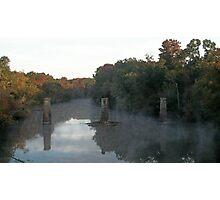 Flint River in the Fall Photographic Print