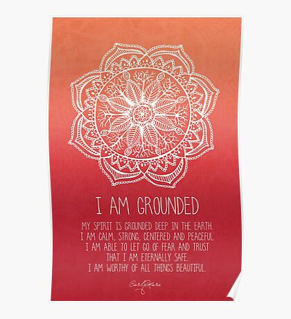 I AM GROUNDED Poster