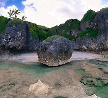 Rock Ball, Lakepa, Niue by Bartt
