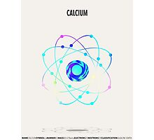 Calcium - Element Art Photographic Print