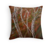 Kat tails Throw Pillow