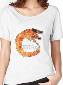 Hydra Logo - Fire Women's Relaxed Fit T-Shirt