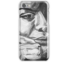 Nina in Black and White iPhone Case/Skin