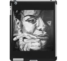 Nina in Black and White iPad Case/Skin