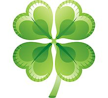 Shamrock - St Patricks Day Photographic Print