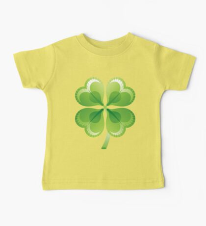 Shamrock - St Patricks Day Baby Tee