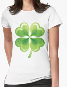 Shamrock - St Patricks Day Womens Fitted T-Shirt