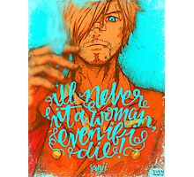 One Piece - Sanji Photographic Print