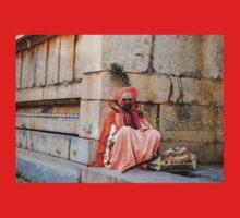 Saffron Sadhu One Piece - Short Sleeve
