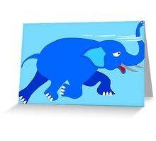 Loch Ness Elephant Theory Greeting Card