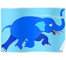 Loch Ness Elephant Theory Poster