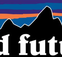Odd Future Mountain background Sticker
