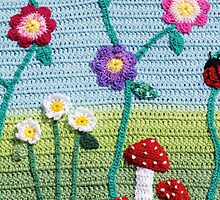Garden of Imagination Toadstools by QueenBabs