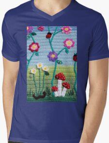 Garden of Imagination Toadstools Mens V-Neck T-Shirt