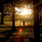 Shadow Swinging by RockyWalley