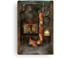 Steampunk - Alphabet - J is for Jet Pack Canvas Print