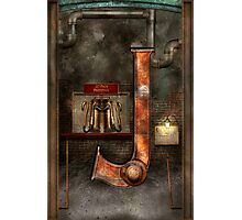 Steampunk - Alphabet - J is for Jet Pack Photographic Print