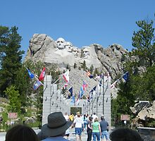 Mt Rushmore by michael51
