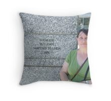 My wife Throw Pillow