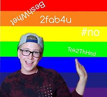 Tyler Oakley fabulous by CXRMXNyoutubers