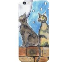 NIGHT CATS iPhone Case/Skin