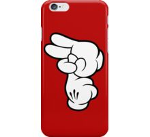 Funny Fingers. iPhone Case/Skin