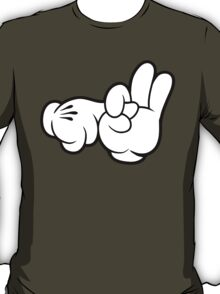 Funny Fingers. T-Shirt