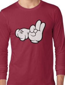 Funny Fingers. Long Sleeve T-Shirt