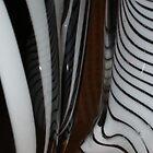 Zebra Glass by Maria Bonnier-Perez