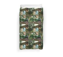 Sewing Amongst Flowers Duvet Cover