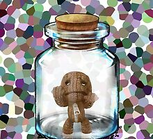 Sackboy Trapped  by diffy2009