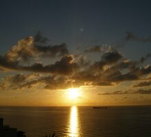 Sunrise in Fort Lauderdale by Maria Bonnier-Perez
