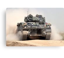British Army Warrior Infantry Fighting Vehicle Metal Print