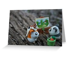 little creatures, big adventures  Greeting Card