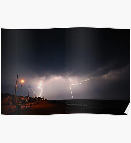 Midnight Lightning Poster