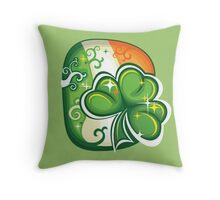 Clover - St Patricks Day Throw Pillow