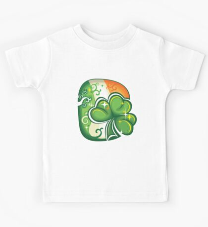 Clover - St Patricks Day Kids Tee