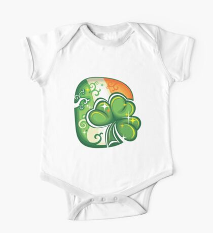 Clover - St Patricks Day One Piece - Short Sleeve