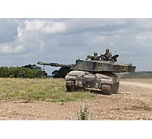 British Army Challenger 2 Main Battle Tank  Photographic Print