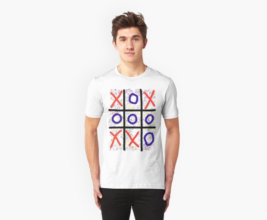 X's and O's T shirt by MaeBelle