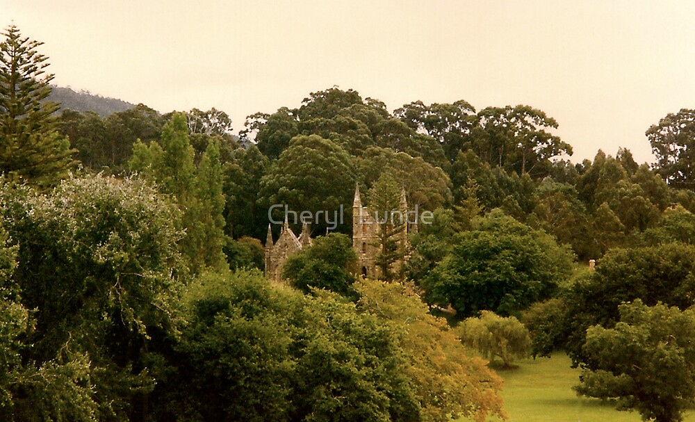 Majestic Castle by Cheryl  Lunde
